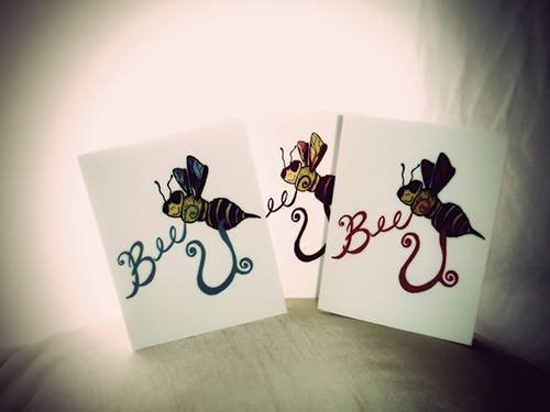 Bee U Note Card Collection