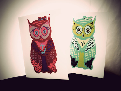 Owl Note Card Collection