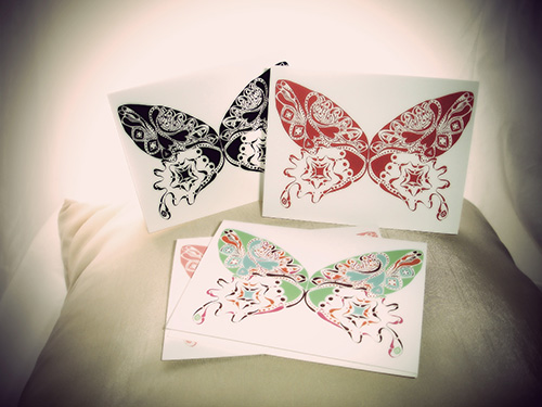 Bountiful Butterfly Note Card Collection