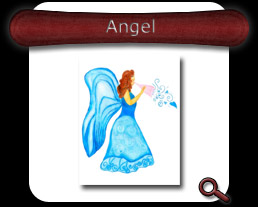 Buy Angel Note Card