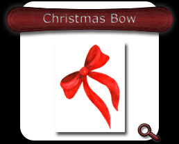 Buy Christmas Bow Note Card
