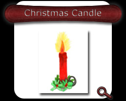 Buy Christmas Candle Note Card