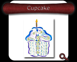 Buy Cupcake Note Card
