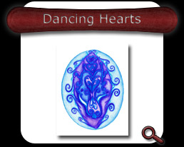 Buy Dancing Hearts Note Card