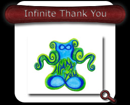 Buy Infinite Thank You Note Card
