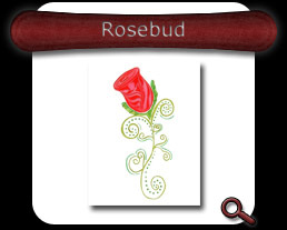 Buy Rosebud Note Card