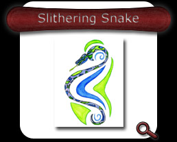 Buy Slithering Snake Note Card