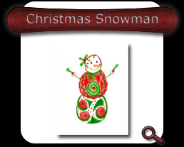 Buy Christmas Snowman Note Card
