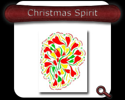 Buy Christmas Spirit Note Card