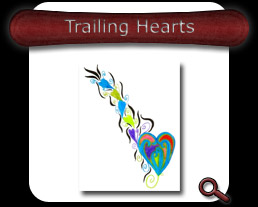 Buy Trailing Hearts Note Card