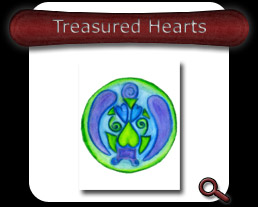Buy Treasured Hearts Note Card