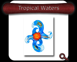 Buy Tropical Waters Note Card