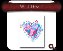 Buy Wild Heart Note Card